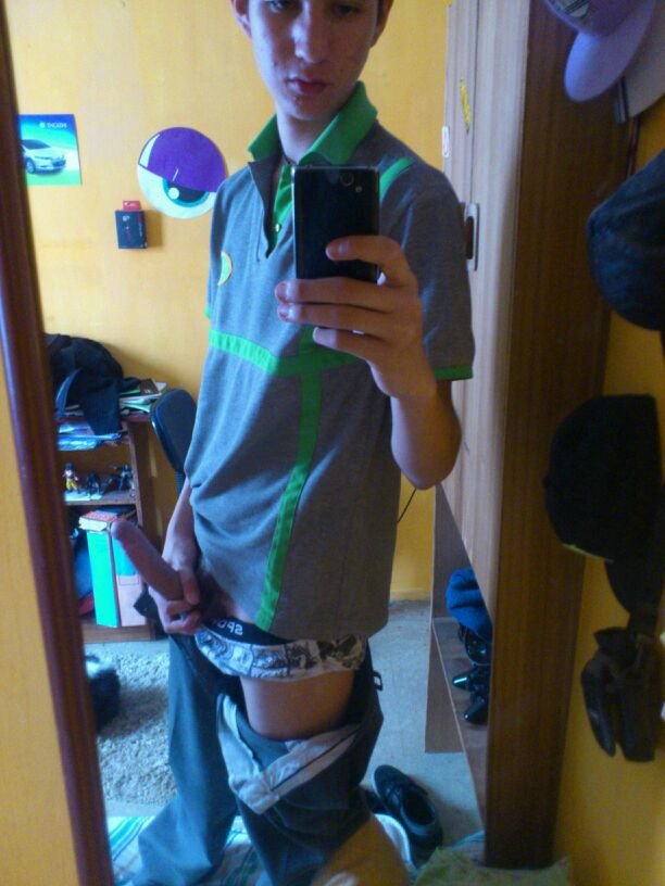 German Boy Selfpic