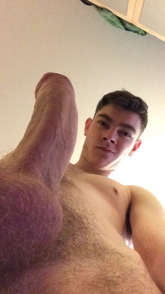 hot horney uncut dick