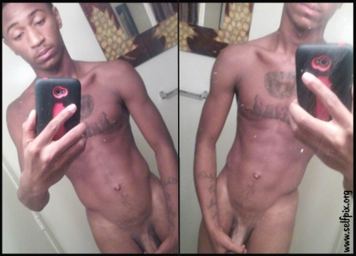 Nude Black Guy Selfpix