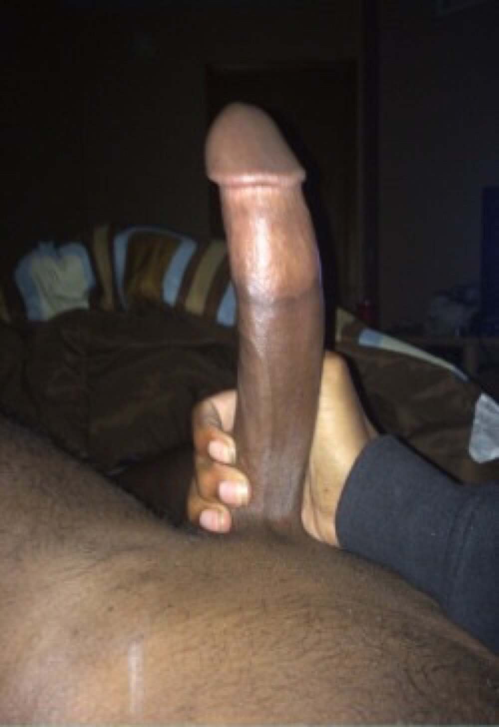 young black dick selfie