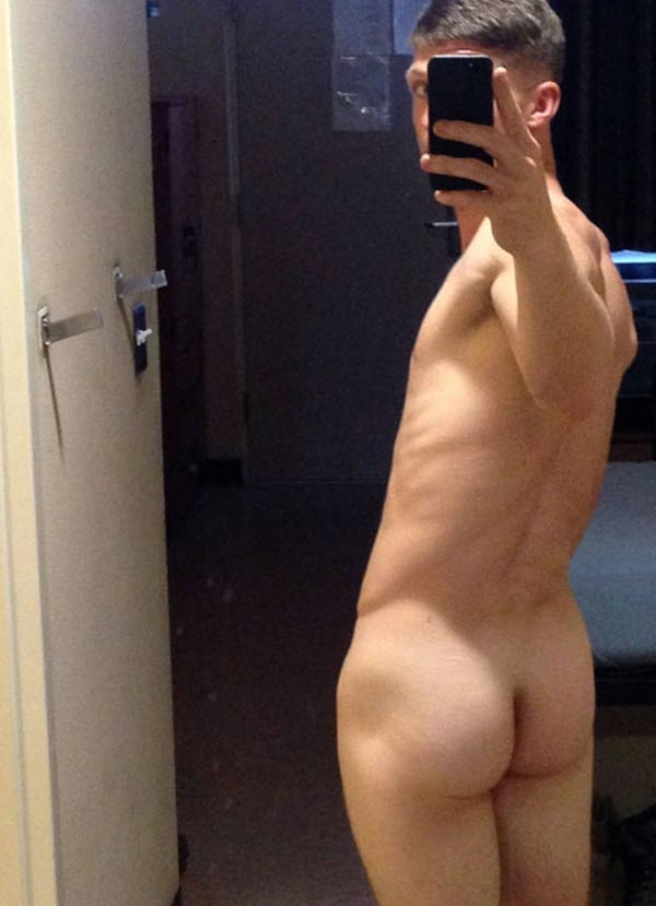 sexy young male nude self shots